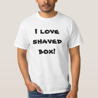 I love shaved box truck funny t-shirt shirt 3