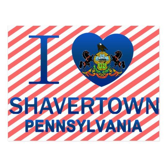 I Love Shavertown, PA Postcard