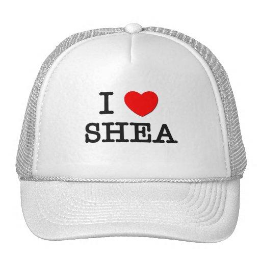 I Love Shea Hats
