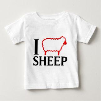 I Love Sheep Baby T-Shirt