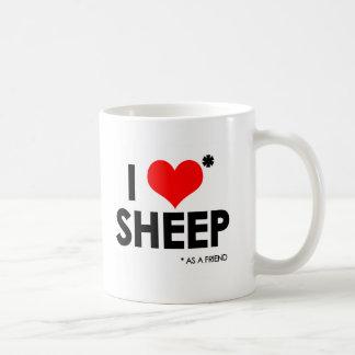 I Love * Sheep Coffee Mug