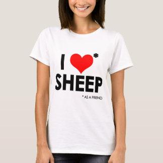 I Love * Sheep T-Shirt