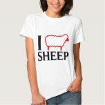 I Love Sheep T Shirts