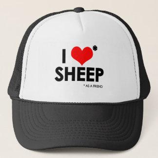 I Love * Sheep Trucker Hat