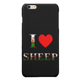 I Love Sheep (Welsh) iPhone 6/S PLUS (any colour) iPhone 6 Plus Case
