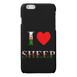 I Love Sheep (Welsh version) iPhone 6/6s case iPhone 6 Plus Case