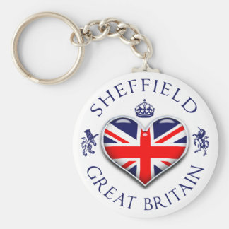 I Love Sheffield Key Ring