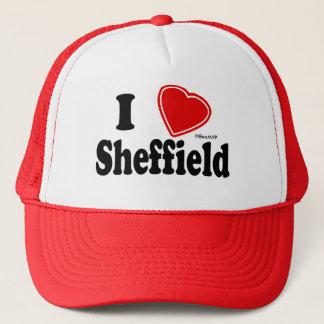 I Love Sheffield Trucker Hat