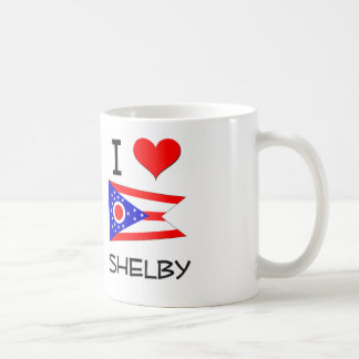 I Love Shelby Ohio Basic White Mug