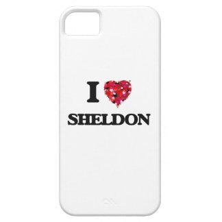 I Love Sheldon iPhone 5 Cover