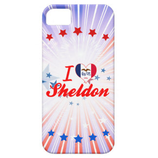I Love Sheldon, Iowa iPhone 5 Cases