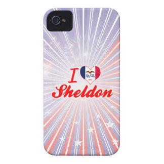 I Love Sheldon, Iowa iPhone 4 Case-Mate Cases