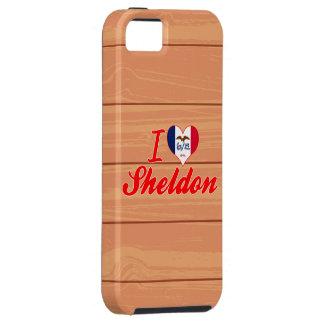 I Love Sheldon, Iowa iPhone 5 Case