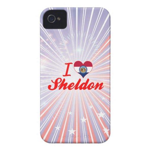 I Love Sheldon, Missouri iPhone 4 Covers