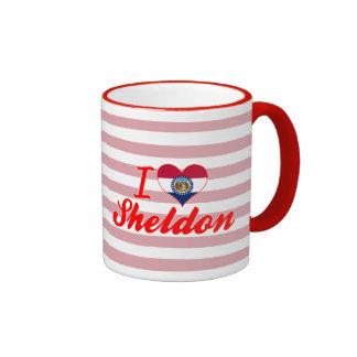 I Love Sheldon, Missouri Coffee Mugs
