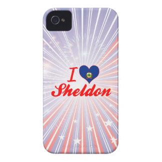 I Love Sheldon, Vermont iPhone 4 Case