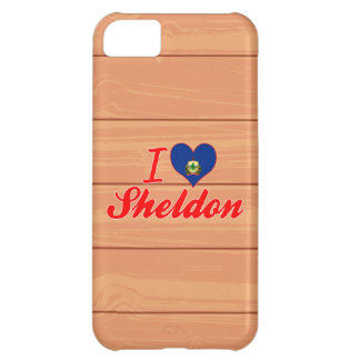 I Love Sheldon, Vermont Case For iPhone 5C