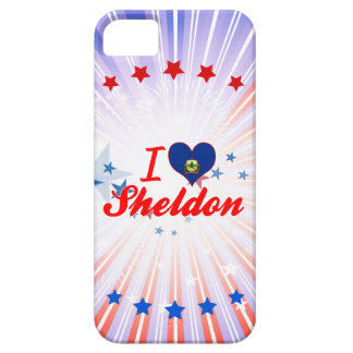 I Love Sheldon Vermont Cover For iPhone 5/5S