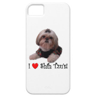 I Love Shih Tzu Barely There iPhone 5 Case