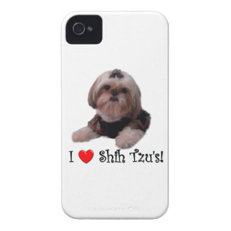 I Love Shih Tzu iPhone 4 Covers