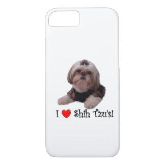 I Love Shih Tzu iPhone 7 Case