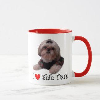 I Love Shih Tzu Mug