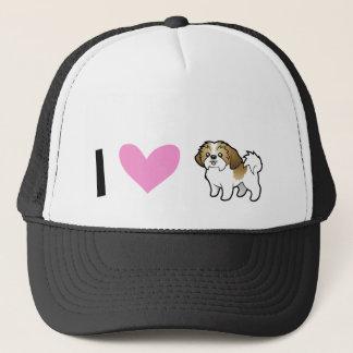 I Love Shih Tzus (puppy cut) Trucker Hat