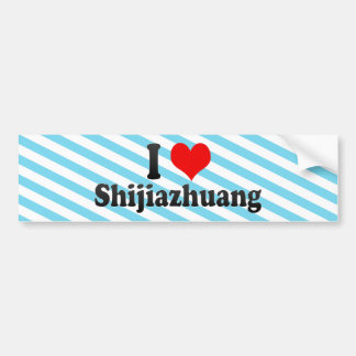 I Love Shijiazhuang, China Bumper Sticker