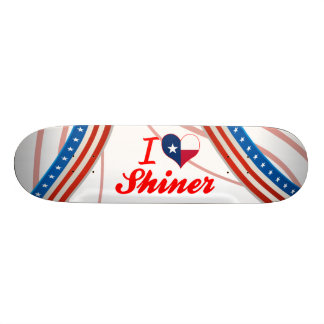 I Love Shiner, Texas Skateboard Deck