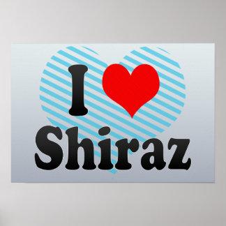 I Love Shiraz, Iran Poster