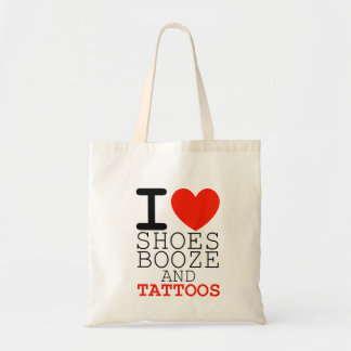 i love shoes booze and tattoos bag womens shopping
