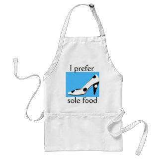 I Love Shoes Sole Food Standard Apron