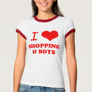 i love shopping & boys T-Shirt