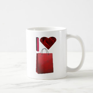I Love Shopping Mugs