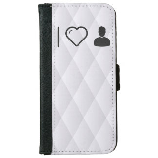 I Love Short Hairs iPhone 6 Wallet Case