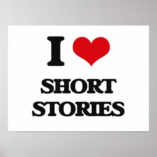 I Love Short Stories Poster