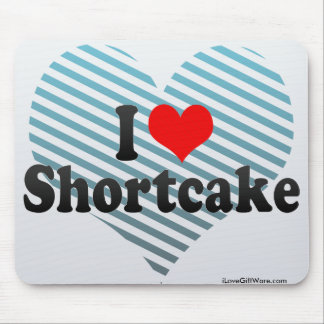 I Love Shortcake Mouse Pad