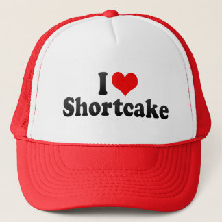 I Love Shortcake Trucker Hat