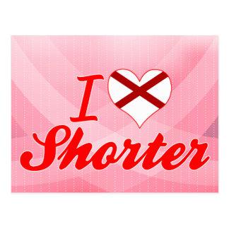 I Love Shorter, Alabama Postcard