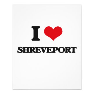 I love Shreveport Flyer Design