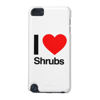 i love shrubs iPod touch (5th generation) case