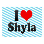 I love Shyla Postcard