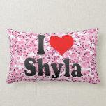 I love Shyla Throw Pillows
