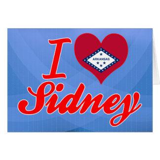 I Love Sidney, Arkansas Greeting Card