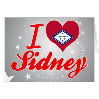 I Love Sidney Arkansas Greeting Card