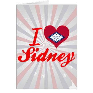 I Love Sidney Arkansas Cards