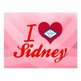 I Love Sidney Arkansas Post Card