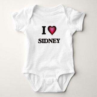 I Love Sidney Baby Bodysuit