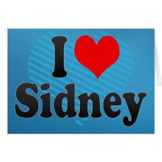 I love Sidney Cards