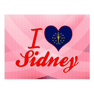 I Love Sidney, Indiana Post Card